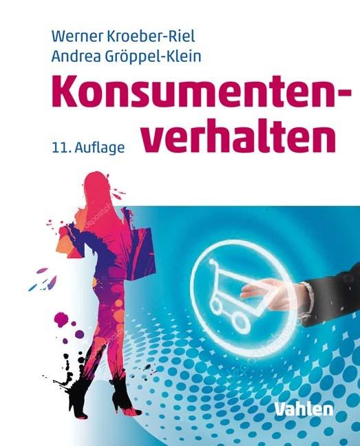 """Das Foto zeigt das Cover des Buches """"Konsumentenverhalten""""."""