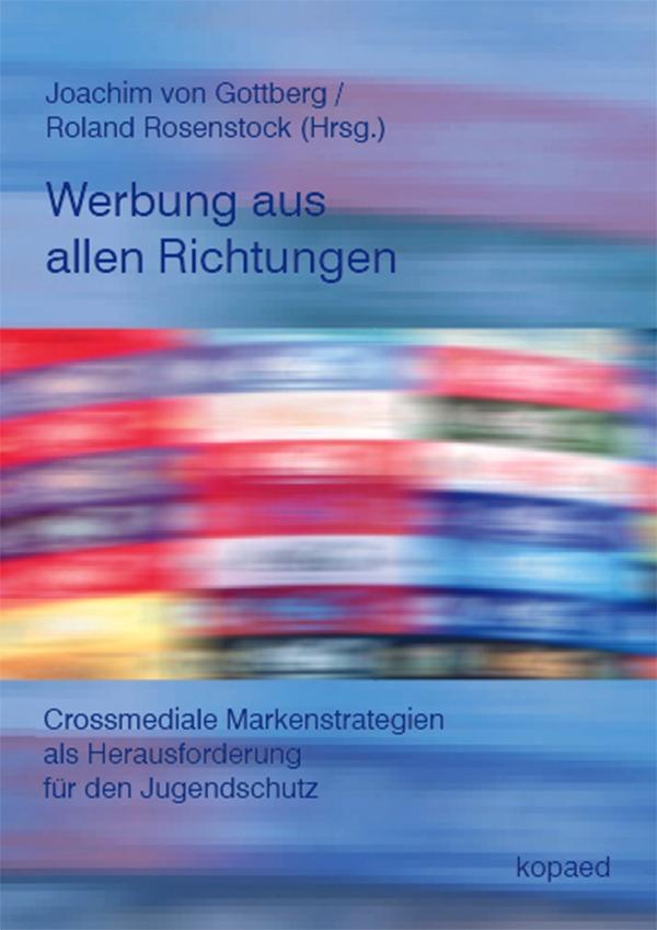 """Das Foto zeigt das Cover des Buches """"Werbung aus allen Richtungen""""."""
