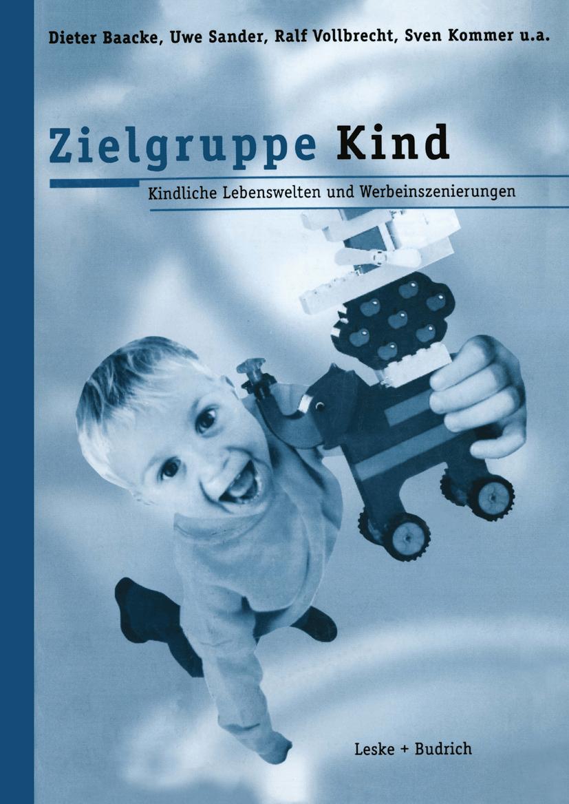 """Das Foto zeigt das Cover des Buches """"Zielgruppe Kind""""."""