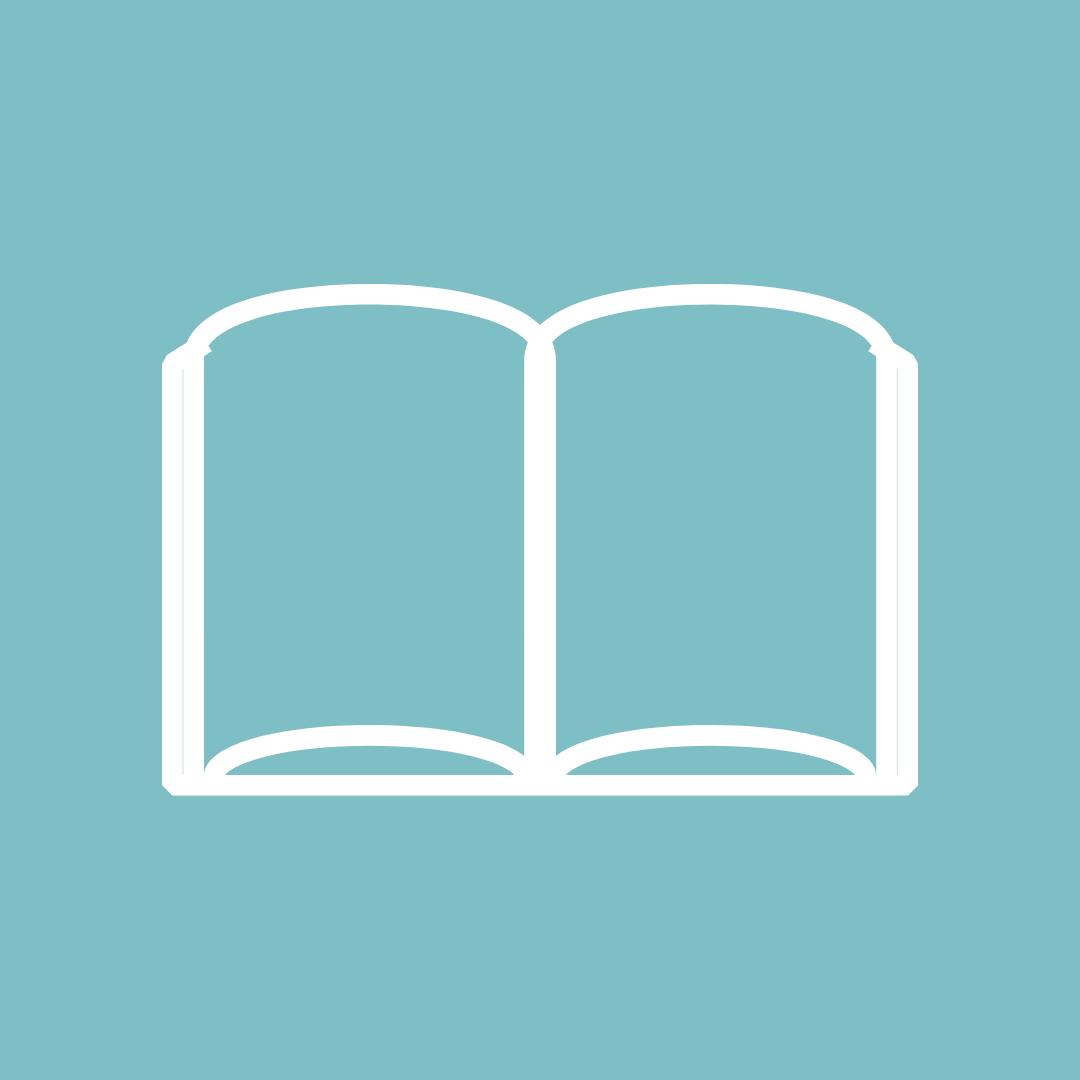 Das Bild zeigt ein offenes Buch.