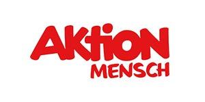 Das Bild zeigt das Logo von Aktion Mensch.
