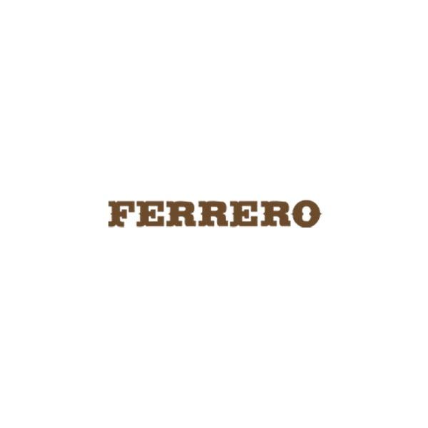 Hier ist das Logo unseres Vereinsmitglieds Ferrero zu sehen.