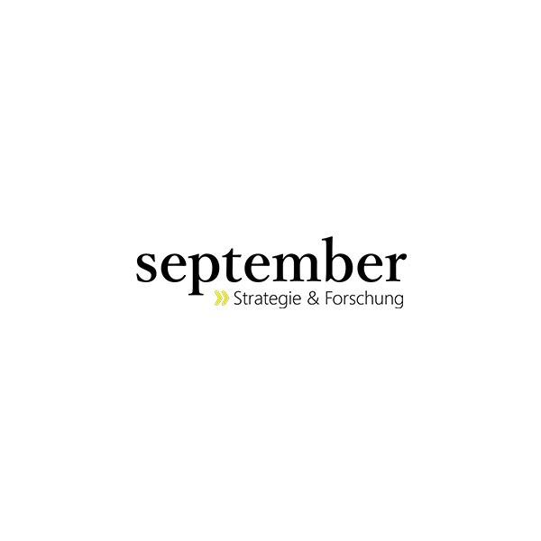 Hier ist das Logo unseres Vereinsmitglieds september zu sehen.